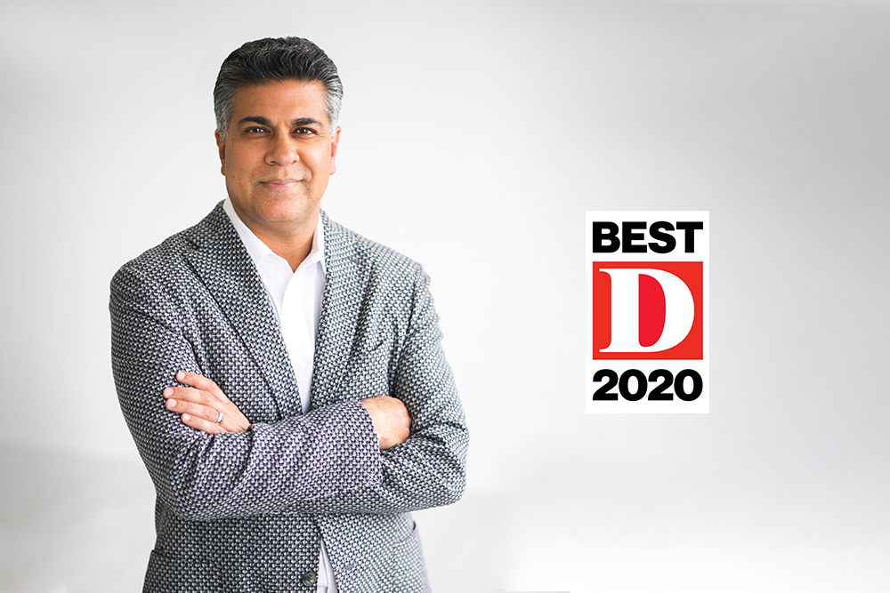 Dr. Tony S. Das was voted Best Doc and Super Doc 2020